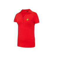 Polo classic rouge ferrari femme taille s